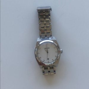 Stainless Steel Nixon watch - The Monopoly model